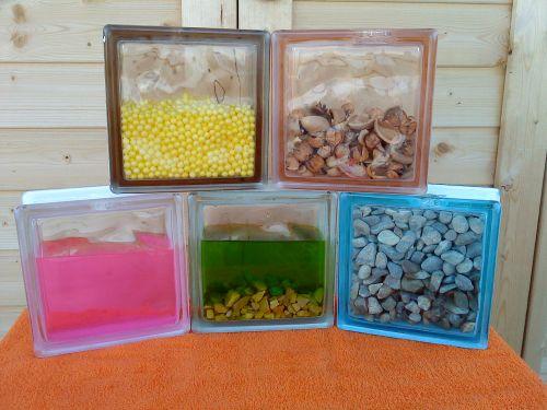 Disenyoss decoracion paves con personalidad - Como poner bloques de vidrio ...