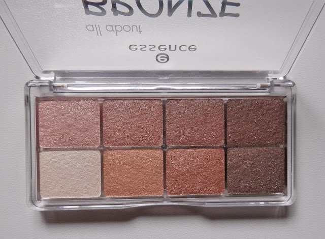Paleta de sombras de Essence all About Bronze