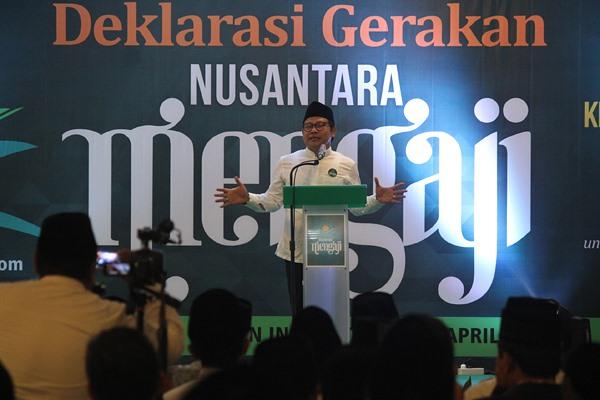 Gerakan Nusantara Mengaji Malam Tadi Tembus 325 Ribu Orang