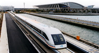 Maglev Train set at a speed of 600 KM per Hour in India