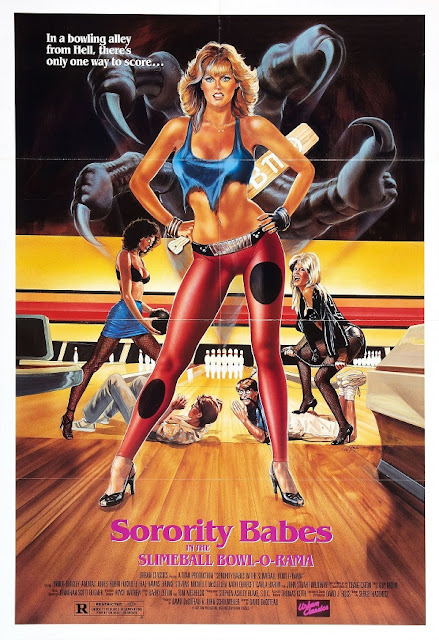 Sorority Babes in the Slimeball Bowl-O-Rama 1988 movie poster