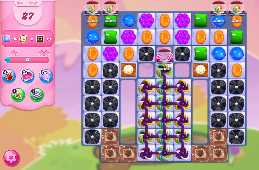 Candy Crush Saga level 5767