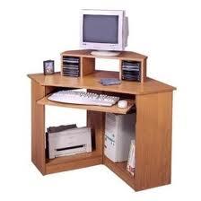 Corner desks corner computer desks for small spaces - Desks for small spaces ...