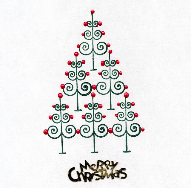 Christmas Tree cards ideas