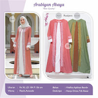 Jual Baju Busana Muslim Dress New Arabiyan Abaya
