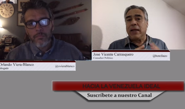 Carrasquero y Viera-Blanco: Hay que parar el cartel constituyente…