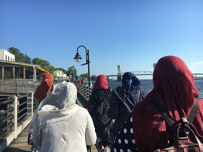 Black Muslim Hijabis in Wilmington North Carolina