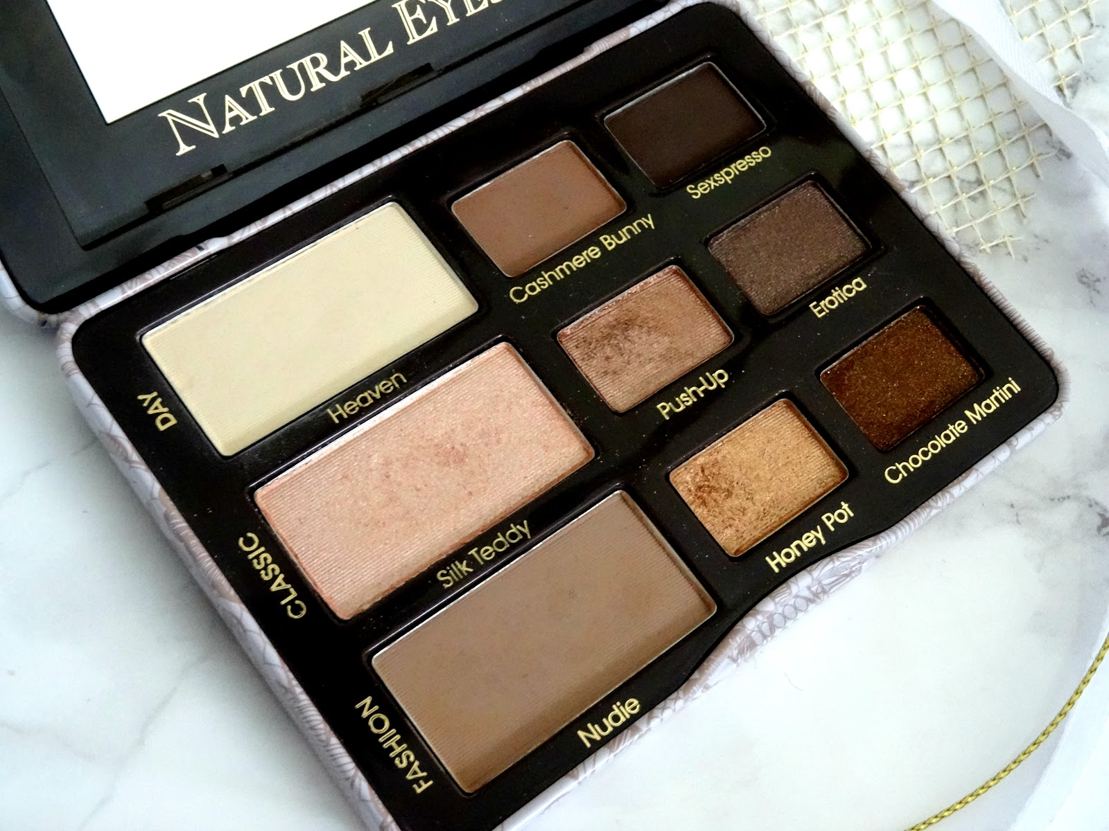 Too Faced Natural Eyes Palette Shades