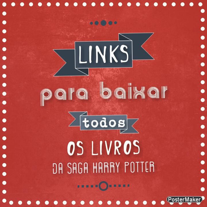 Saga Harry Potter Livros Pdf