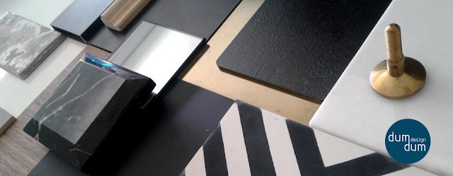 planche matériaux concept