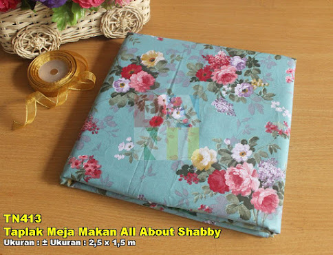 Taplak Meja Makan All About Shabby