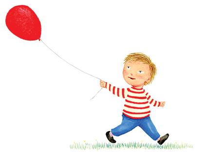 the red balloon illustration yara dutra