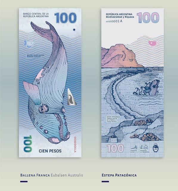 Propuesta de rediseño para los billetes argentinos