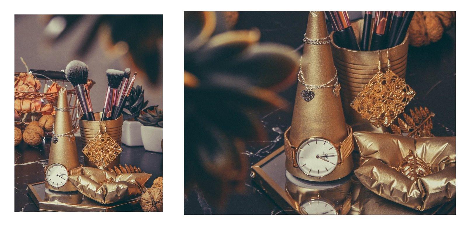 2a contit stylowe złote dodatki do wnętrz stojak na bizuterię jak przechowywać biżuterię nowoczesne dekoracje pomysł na prezent łódzkie upominki prezenty na gwiazdkę co kupić dziewczynie na urodziny, na święta