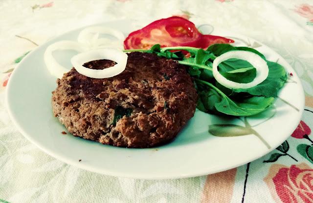 hambúrguer caseiro saudável