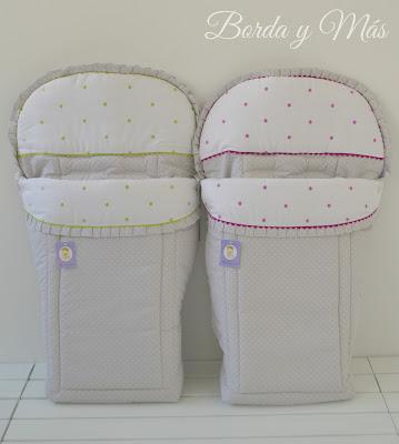 sacos para la silla Bebecar Duo Personalizados