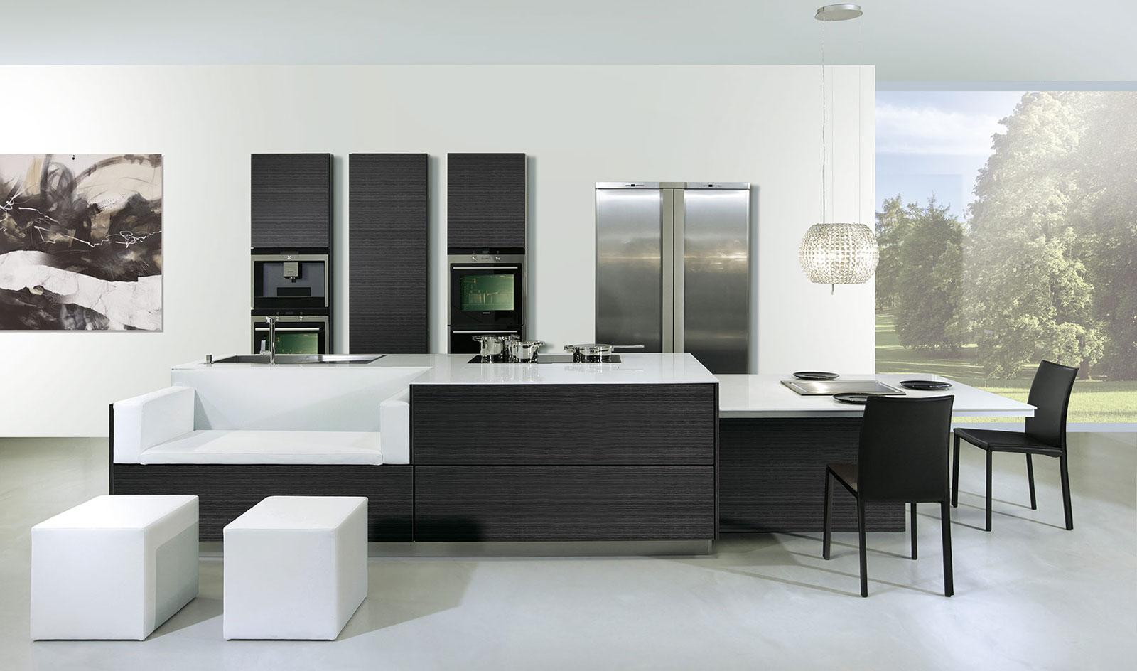 C mo distribuir el espacio en la cocina cocinas con estilo for Modelo de cocina integrado