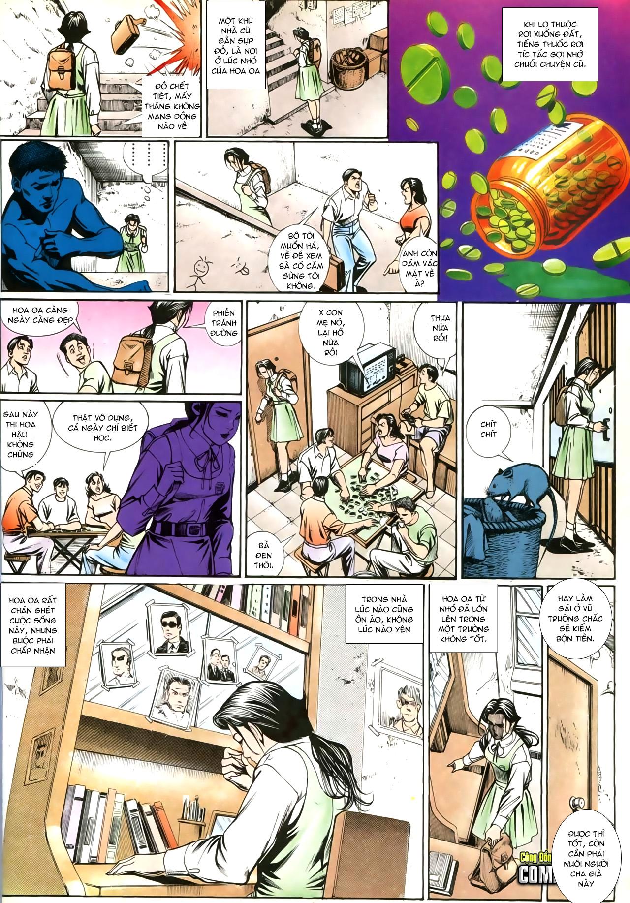 Người Trong Giang Hồ chapter 207: nhật ký đau lòng trang 27