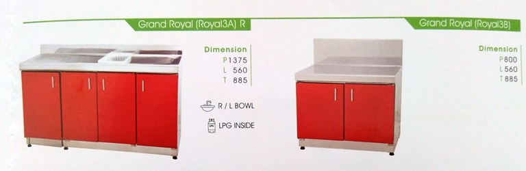 Toko CEMERLANG Kitchen Set Royal WA 087871241577 BBM
