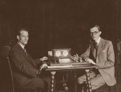 Encuentro de ajedrez Dr. Rey - Casas, Ateneo Barcelonés en 1933
