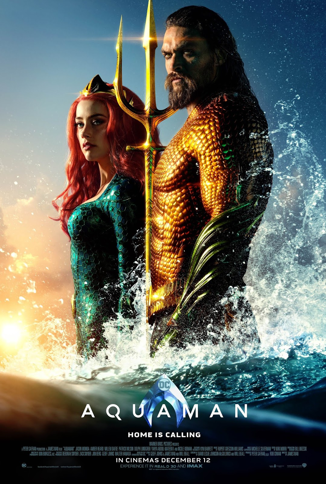 one sheet aquaman