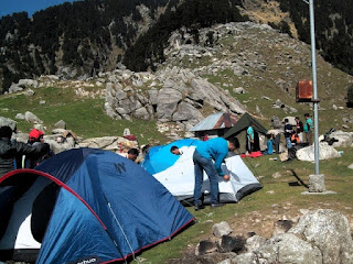 holiday package for himachal; two days camping; backpack trekking; outdoor camping tents;