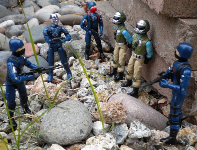 Bootleg, Cobra Mortal, Black Major, Custom, Cobra Trooper, Crimson Guard, Desert, Urban Cammo, Plastirama, Argentina, Rare G.I. Joe Figures, Steel Brigade