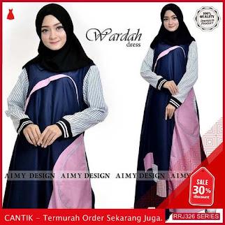 Jual RRJ326D180 Dress Wardah Dress Wanita St Terbaru Trendy BMGShop