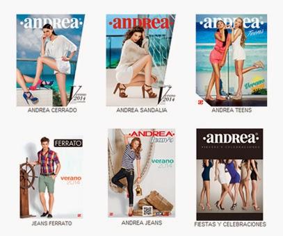 Catalogos Andrea calzado verano 2016 digital online