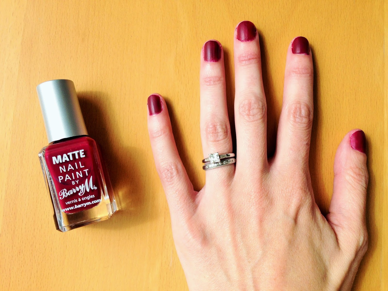 Barry M Matte Nail Paint in Crush