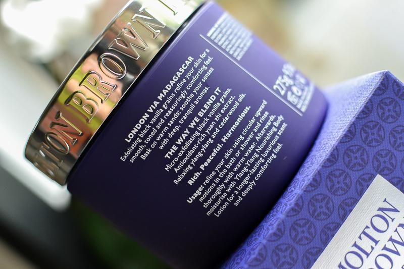 Molton Brown Comforting Body Polisher Scrub with Vanilla Ylang-Ylang Sugar Olive Oil - How to Use