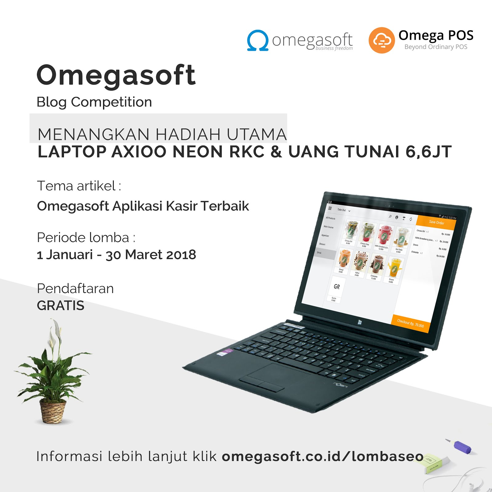 Omegasoft Blog Competition 2018