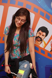 Telugu Actress Angela Stills in Ripped Jeans Angela Stills At Radio City For Rogue Promotions  0006.jpg