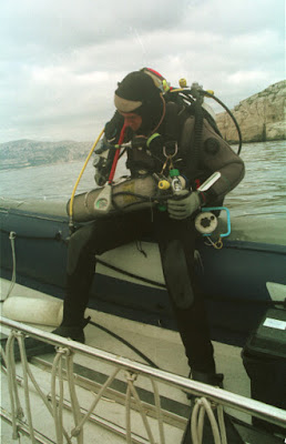 Georges Gawinowski mixed Gas dive - Marseille 1998
