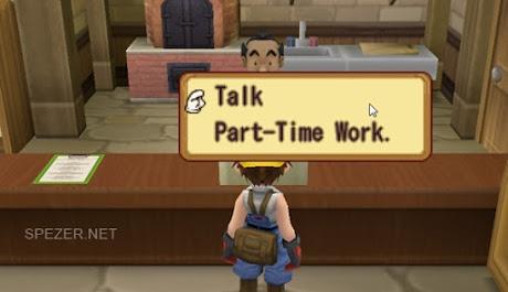 Part Time Job di toko milik Ronald