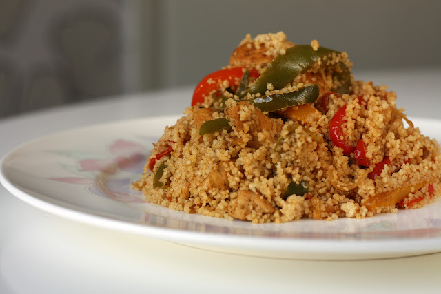 Couscous sa piletinom i paprikama