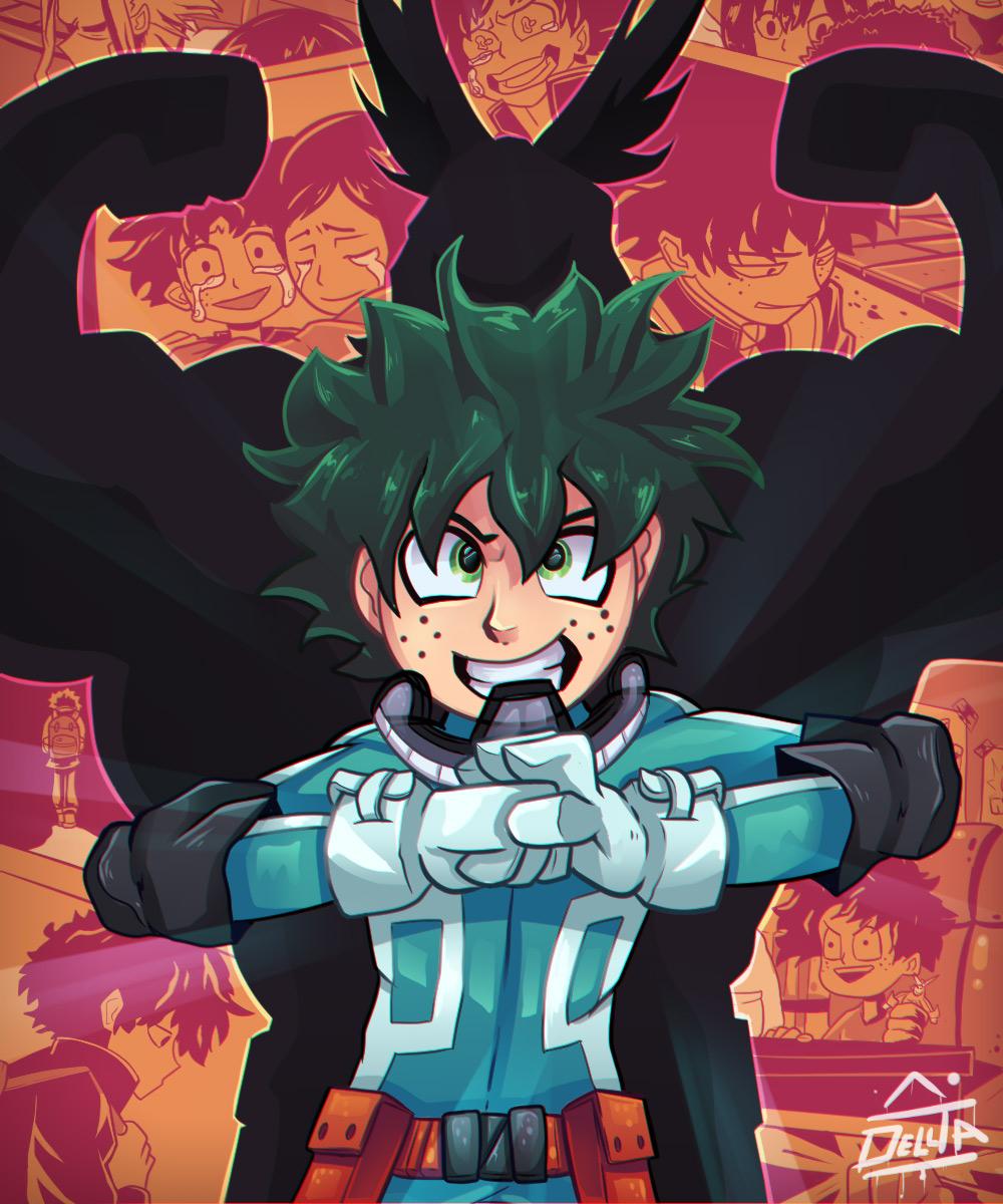 Boku no Hero Academia Chapter 110-19