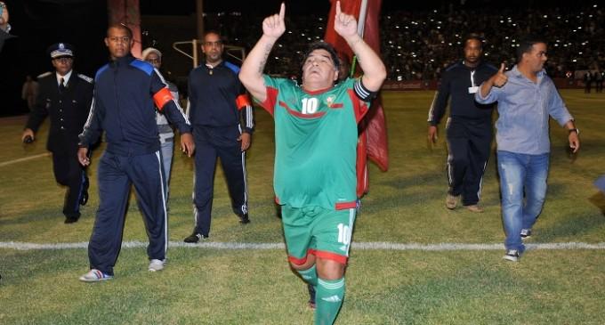 Maradona va faire son retour au Maroc