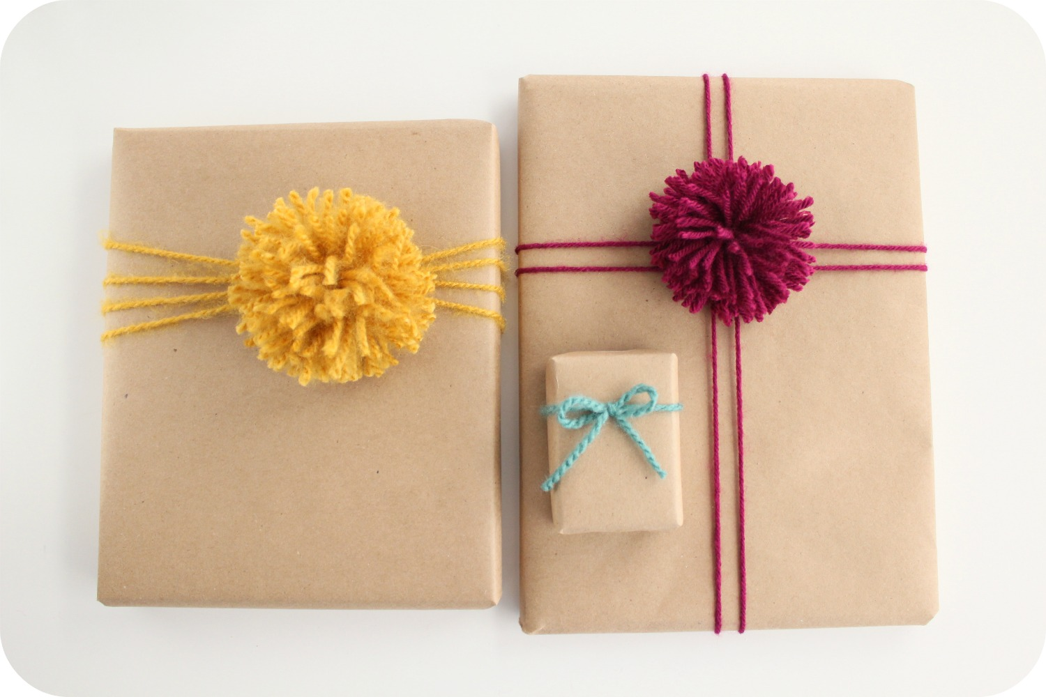 Well known little lovelies: brown paper packages YT97