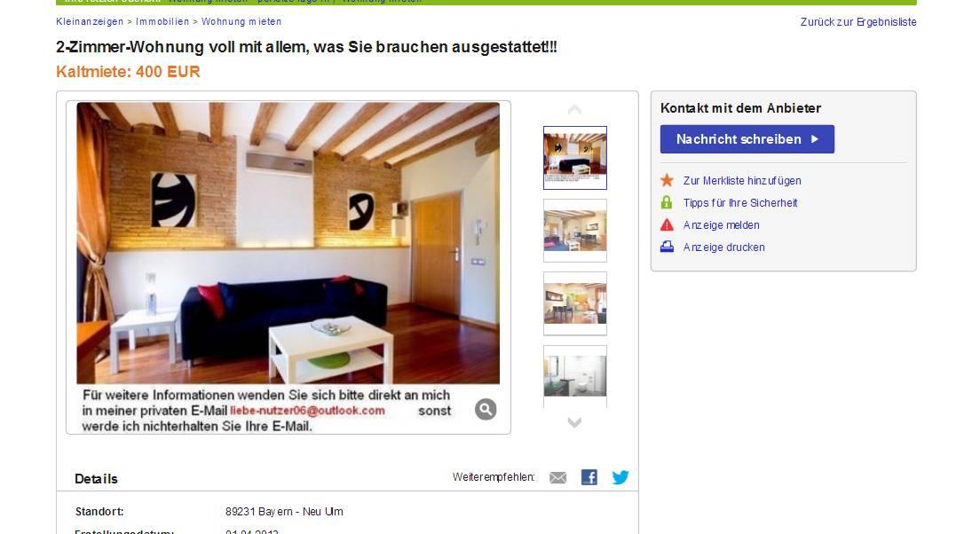 Zimmer Wohnung Neu Ulm