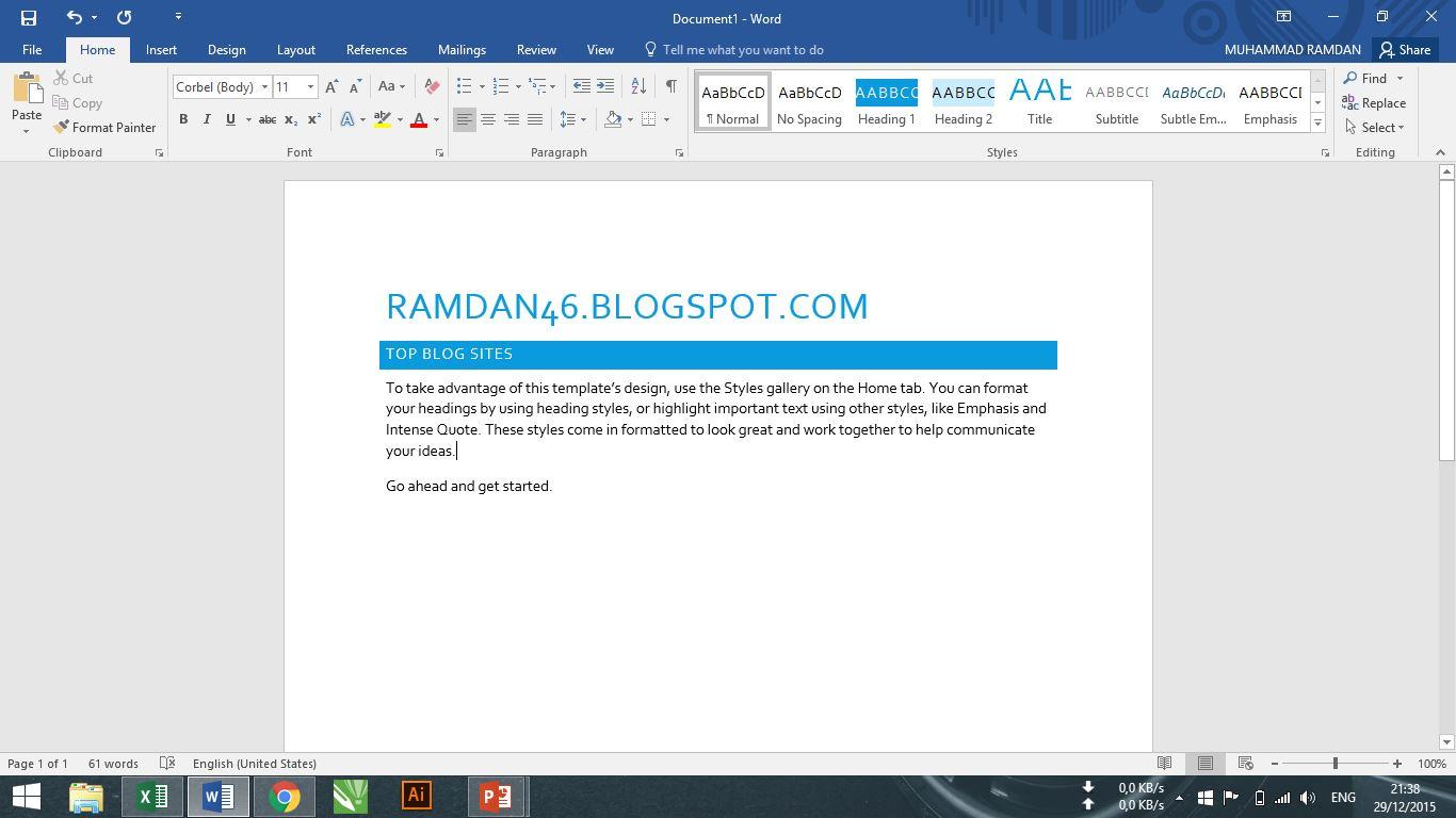 Download Microsoft Office Professional Plus 2016 Final Full - RAMSS.net