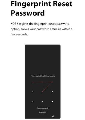 Infinix XOS 5 Cheetah Password Reset