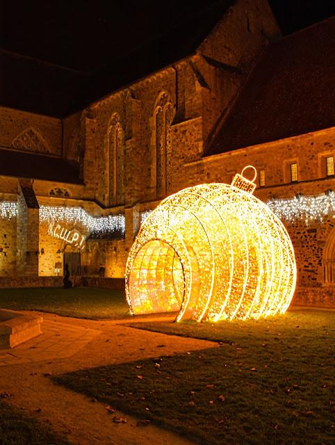 jiemve, Abbaye, Epau, lumières, illuminations