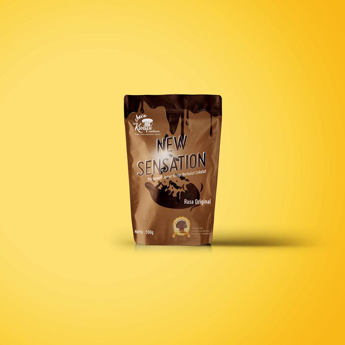 Desain Packaging Choco Kwispi Jasa Desain