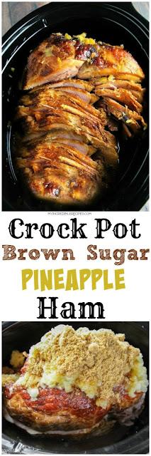 Crock Pot Brownish Saccharide Pineapple Ham Recipe
