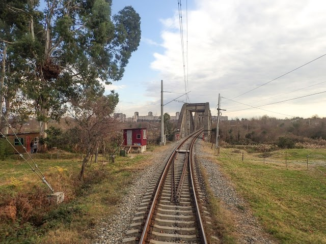 ЖД от Сухуми до Адзюбжы