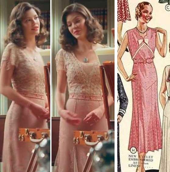 Mulher e moda anos 30