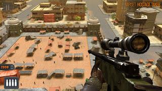 sniper 3d apk مهكرة