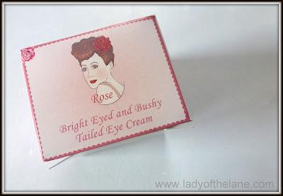 English Rose Cosmetics Bright Eyed & Bushy Tailed Eye Cream