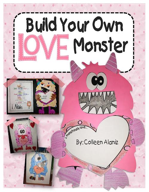 https://www.teacherspayteachers.com/Product/Love-Monster-Craftivity-505336